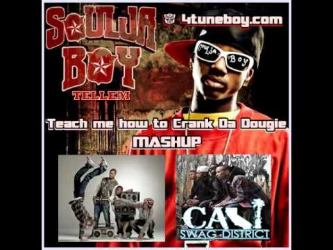 Soulja Boy Vs Cali Swag District - Teach Me How To Crank Da Dougie Mashup