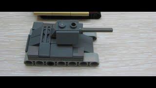 getlinkyoutube.com-micro tank lego t34