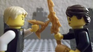 getlinkyoutube.com-Lego Ninjago Battle Between Brothers (Stop Motion)