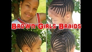 getlinkyoutube.com-Natural Girls Braids *Easy Tutorial*