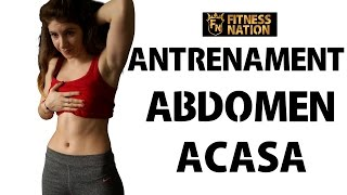 getlinkyoutube.com-Antrenament Abdomen Acasa in 10 min !