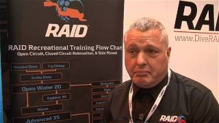 Scubaverse talks to James Rogers from RAID UK at DIVE 2014