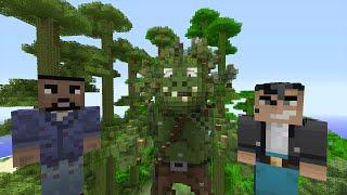 getlinkyoutube.com-Minecraft Xbox One - Tree Troll Boss