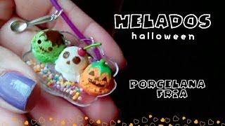getlinkyoutube.com-Helados🎃 PORCELANA FRIA especial halloween