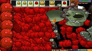 getlinkyoutube.com-PLANTS VS ZOMBIES 100%  WALL NUT BOWLING 2