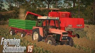 "Żniwa pszenicy 2016 na Boluśowo v7 ☆ ""Od Bizona do Lexiona"" #7 Farming Simulator 15 ㋡ MafiaSolec"