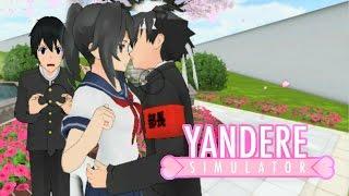 YANDERE CHEATS ON SENPAI?! | Yandere Simulator Roleplay Ep 4