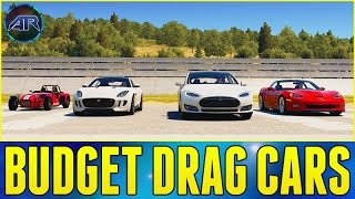getlinkyoutube.com-Forza Horizon 2 Online : BUDGET DRAG CAR CHALLENGE!!!