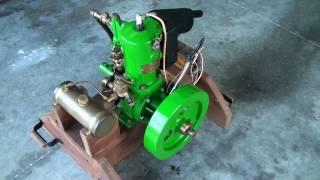 getlinkyoutube.com-Detroit Engine Works - 1906 Marine Engine