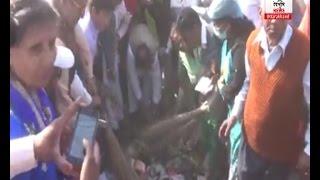 रूडकी में सूबे के मंत्री यशपाल आर्य ने सफाई अभियान को दी हरी झंडी