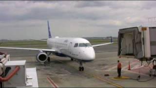 getlinkyoutube.com-Jet Blue E-190 Flight from Boston to Charlotte