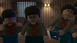 getlinkyoutube.com-LEGO Harry Potter Years 5-7 Walkthrough Part 15 - Year 7 Deathly Hallows Part 1 - The Seven Harrys