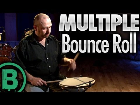 Multiple Bounce Roll - Drum Rudiment Lesson