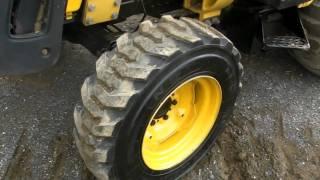 getlinkyoutube.com-John Deere 110 Diesel Backhoe Loader Construction Machine Tractor Cab Hydro...