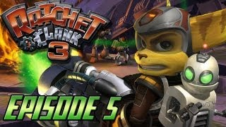 Ratchet et Clank 3 Let's Play - Episode 5 : A l'assaut sur Tyranosis