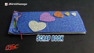 getlinkyoutube.com-DIY Easy Photos Scrapbook | How to make | JK Arts  806