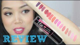 getlinkyoutube.com-LA Girl Matte Pigment Gloss First Impression Review - itsjudytime