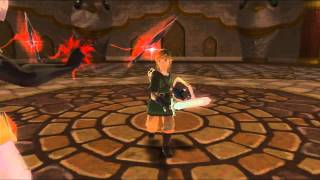 The Legend of Zelda : Skyward Sword - Fire Sanctuary (Boss) and 3rd (Final) Sacred Flame