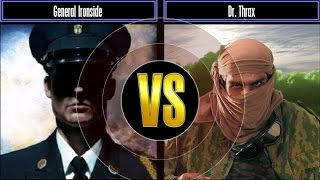 getlinkyoutube.com-Pro:Gen Mod Challenge Mode: General Ironside VS Dr. Thrax