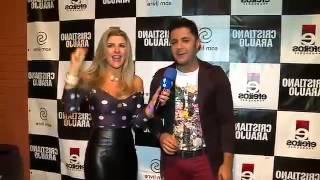 getlinkyoutube.com-Cristiano Araújo apresentou namorada ao TV Fama há um ano