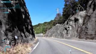 getlinkyoutube.com-ロードバイク走行映像(日置川大塔線〜大附見老津停車場線)