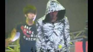 "getlinkyoutube.com-[Fancam] SS501 ""Love Ya"" Rehearsal for Music Bank 100611"