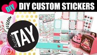 getlinkyoutube.com-DIY Custom Stickers with the Cricut Explore Air