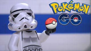 getlinkyoutube.com-Lego Star Wars: Clones play Pokemon Go