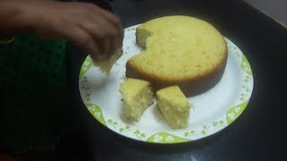 getlinkyoutube.com-Simple cake making  in Tamil without Oven, Cooker & Sandpot