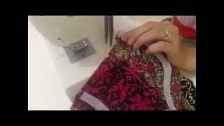 getlinkyoutube.com-Sewing a kameez/kurti- 1. Making a neckline