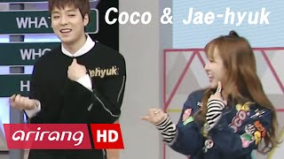 Touch Q _ Coco of CocoSori(코코소리 코코) danced with Jae-hyuk of The Legend