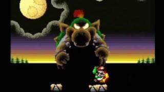 getlinkyoutube.com-Zagrajmy w Super Mario World 2: Yoshi's Island (część 38) Walka z Bowserem !