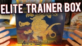 getlinkyoutube.com-Pokemon Cards - Ancient Origins Elite Trainer Box Opening