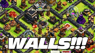 getlinkyoutube.com-Clash of Clans: How to Upgrade Walls!