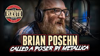 Brian Posehn - called poser by Metallica, getting his start in tv, music width=