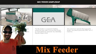 Farming Simulator 2015 Mods Mash Up - Mix Feeder (Needs GE install)