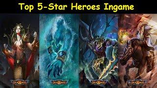 getlinkyoutube.com-Deck Heroes: Top 5-Star Heroes Ingame