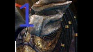 Aliens Vs Predator 2 (Predator) Walkthrough Part 1 HD (No commentary)