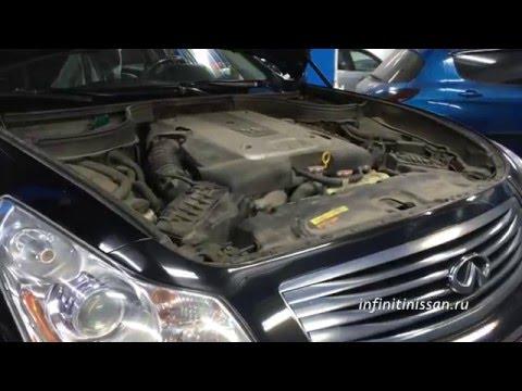Полная замена масла в АКПП на автомобиле Infiniti G35x
