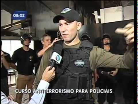 Curso Antiterrorismo Policia Ferroviária Federal