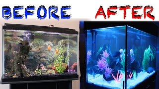 getlinkyoutube.com-UPGRADING FROM 30 TO 150 GALLON FISH AQUARIUM