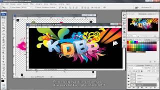 getlinkyoutube.com-tutorial photoshop cs3 bahasa indonesia membuat Text 3d