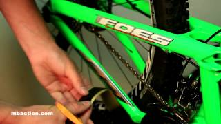 getlinkyoutube.com-Mountain Bike Action Tech Minute - Using 3M Tape to Make Chainstay