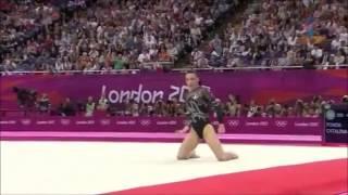 getlinkyoutube.com-Cătălina Ponor ROU EF FX 2012 London Olympic Games