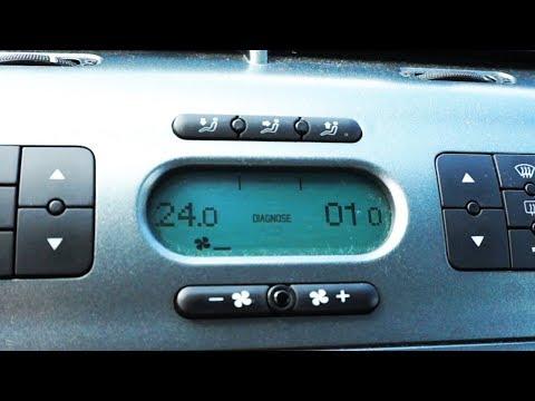 Seat Altea Climatronic hidden diagnostic menu