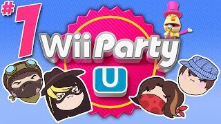 getlinkyoutube.com-Wii Party U: The Balldozer - PART 1 - Steam Rolled