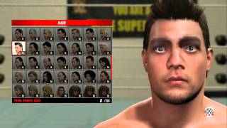 getlinkyoutube.com-WWE 2k16 Create a Superstar Face scan