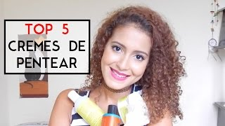 getlinkyoutube.com-5 Cremes de Pentear Favoritos - No e Low Poo | Mari Morena