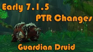 getlinkyoutube.com-Early 7.1.5 PTR Guardian Druid Changes