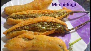 getlinkyoutube.com-Street Style Mirchi Bajji/Menasinakai Bajji/Stuffed Mirchi/Mirapakai Bajji/Best Mirchi Recipe